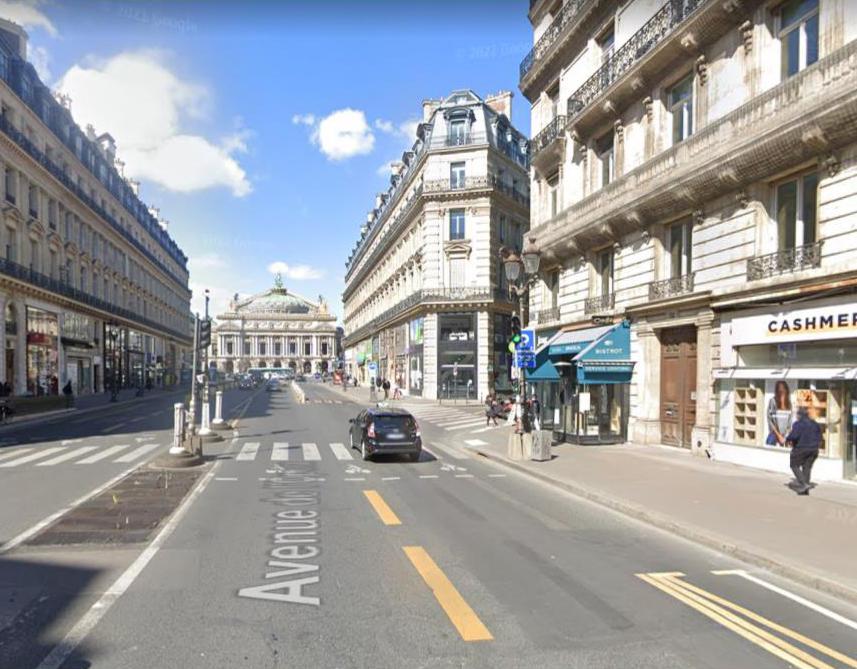 Avenue de l'opéra 2021